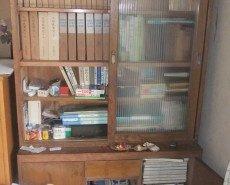遺品整理と思い出の品配送、骨董屋さんの紹介の施工前