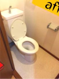 トイレの原状回復の施工後