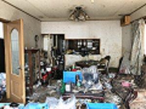 遺品整理:豊川市の施工前