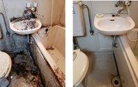 特殊清掃も、私たちに安心しておまかせください。