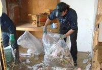 燃やす処理からリサイクルへ 持続型資源循環社会の構築をめざし適正な廃棄物の処理を行います。