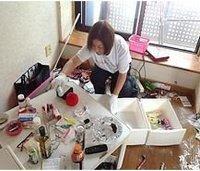 お部屋の部分的な片付けからゴミ屋敷まで清掃いたします。