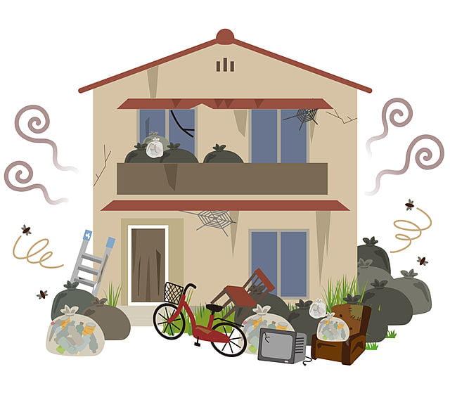 全国のゴミ屋敷片付けの特徴